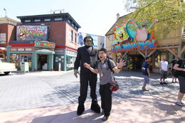 At Universal Studios Hollywood - October 2011