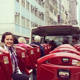 With so many buses on the one route, you often find yourself on a very private tour!! , Amy-Claire - March 2014
