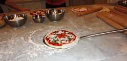 Photo of Florence Florence Cooking Class: Learn How to Make Gelato and Pizza Individual pizzas