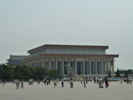 Photo of Beijing Private Tour: Tiananmen Square, Forbidden City and Temple of Heaven in Beijing Mao Zedong's mausoleum