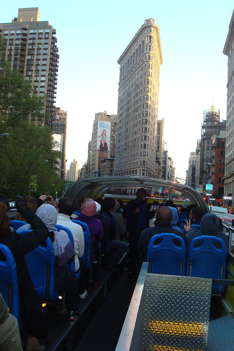 Night Tour by CitySights, Open-air Bus - New York City