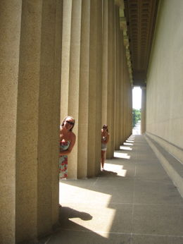 Photo of   Playing in the columns