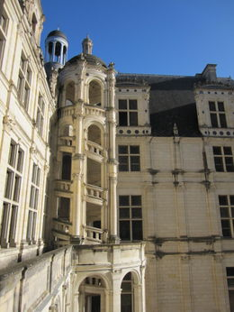 Photo of Paris Loire Valley Castles Day Trip: Chambord, Cheverny and Chenonceau Spiral Staircase at Chambord Chateau