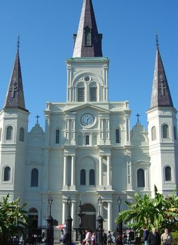 St. Louis Cathedral in Jackson Square, New Orleans , Leah - May 2011