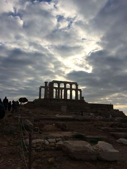 Photo of Athens Cape Sounion and Temple of Poseidon Half-Day Trip from Athens Stunning