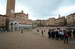 Photo of Florence Tuscany in One Day Sightseeing Tour The public square in Siena