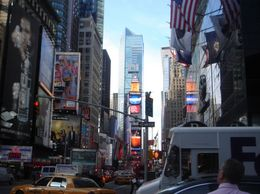 This was an amazing part of the tour driving through Times Square, it was mind blowing! we loved it!, Karen P - October 2009