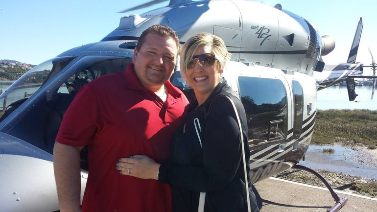 Chads 1st Helicopter ride around the SF Bay!