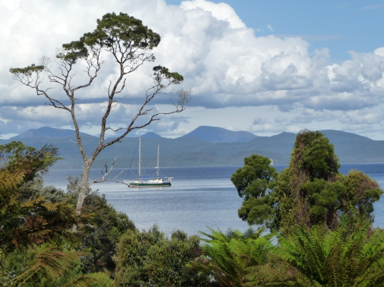 View from Sarah Island -