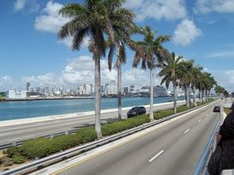 View of Miami From Upper Level of Tour Bus , Gary M - July 2015