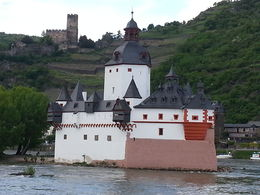 One of the many beautiful views from Rudesheim to Boppard , Hazel W - May 2013