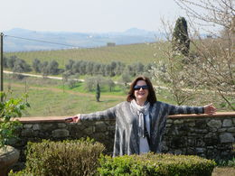 Photo of Florence Small-Group Tuscany Wine-Tasting Tour from Florence Chianti Classico Winery Garden