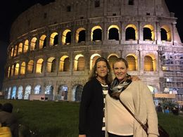 My daughter and I took a stroll of Rome during the evening and look what we found! , cwgiggles1101 - October 2015