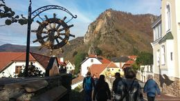 We walked about a half mile from our bus into the village of Dürnstein, overlooking the Danube. , Jennifer B - November 2015