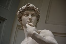 Photo of the real David, inside the Accademia, Florence , philip_x_allen - August 2014