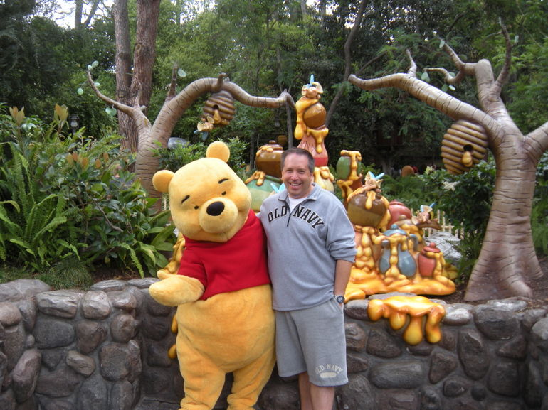 David & Winnie the Pooh - Los Angeles