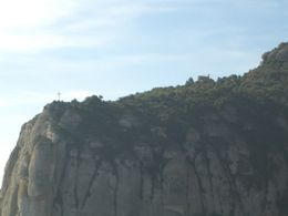 View of the cross from Montserrat. , DaNeener - April 2011