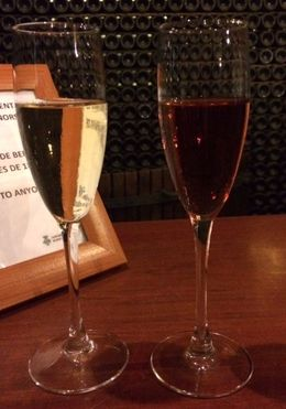 The Pinor Noir Cava was fantastic. , KAK - May 2015