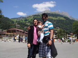 At the bottom of mount TItlis , kingsouza - July 2011