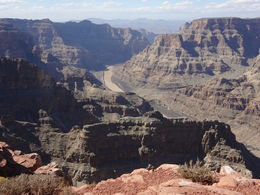 Photo of Las Vegas Grand Canyon West Rim Day Trip by Coach, Helicopter and Boat with Optional Skywalk Eagle Point