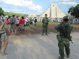 Photo of Cancun Chichen Itza Day Trip from Cancun Even the guards were impressed