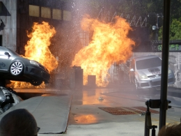 Photo of Los Angeles Skip the Line: Front of Line Pass at Universal Studios Hollywood Exploding Cars
