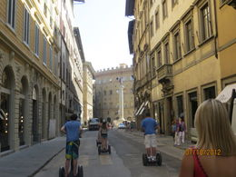 Segway Tour in Florence , Kristi M - July 2012