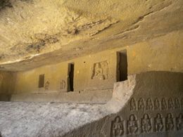 small doors to go inside caves , EXPLORE GLOBE - March 2012