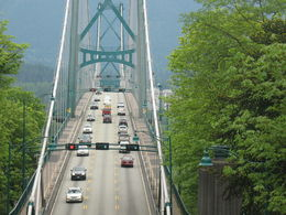 Photo taken from tour trolley while driving in Stanley Park , Scuffydog - May 2014
