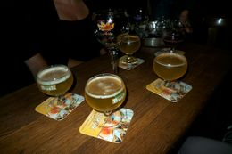 Photo of Brussels Brussels Night Walking Tour: Gourmet Belgian Food Local Beers