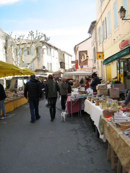 Photo of   market in Saint Remy