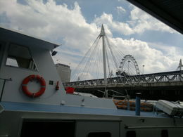Photo of London Thames Clippers River Roamer: Hop On Hop Off Pass millenium weel
