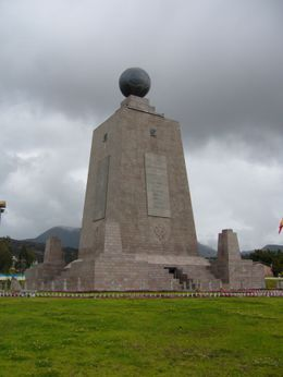 Photo of Quito Private Tour: Middle of the World Monument from Quito Mitad del Mundo Monument