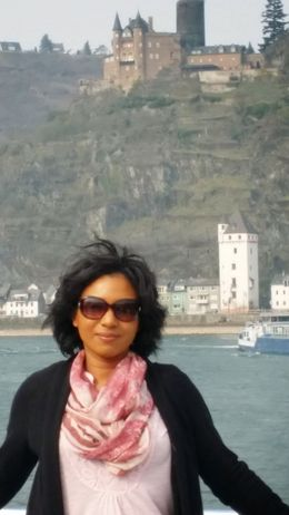 Windblown on cruise under a castle , Ann Marie S - March 2015