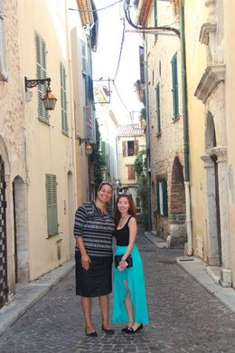 Photo of Nice Private Half-Day Trip: Cannes and Antibes from Nice by Minivan our tour guide Camile