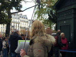Photo of Paris Skip the Line: Catacombs of Paris Small-Group Walking Tour Our tour guide.