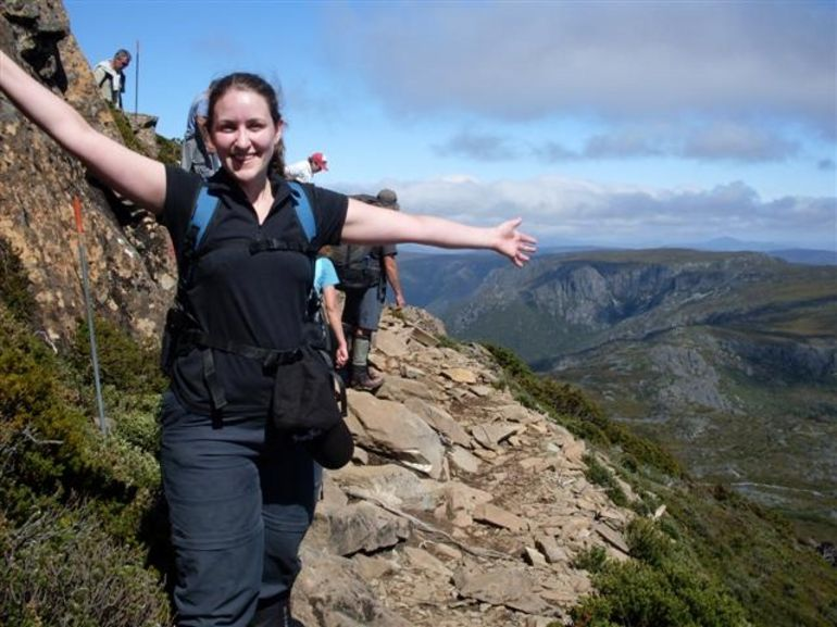 Part Way up Cradle Mountain -