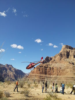 Photo of Las Vegas Grand Canyon All American Helicopter Tour Reluctant Return.......