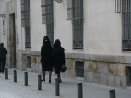 Photo of Madrid Madrid Small-Group Walking Tour including Royal Palace Spanish women on Good Friday