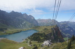 Photo of Zurich Mount Titlis Day Tour from Zurich Subiendo al Titlis