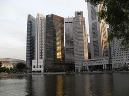 The city of Singapore has many beautiful and well known buildings., Robert C - December 2008