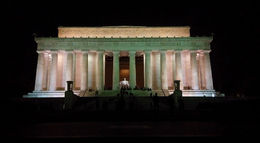 Photo of Washington DC Washington DC Super Saver: Hop-on Hop-off Trolley and Monuments by Moonlight Tour The Lincoln Memorial