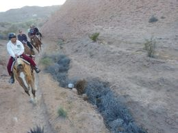 Photo of Las Vegas Wild West Sunset Horseback Ride with Dinner trail ride 1