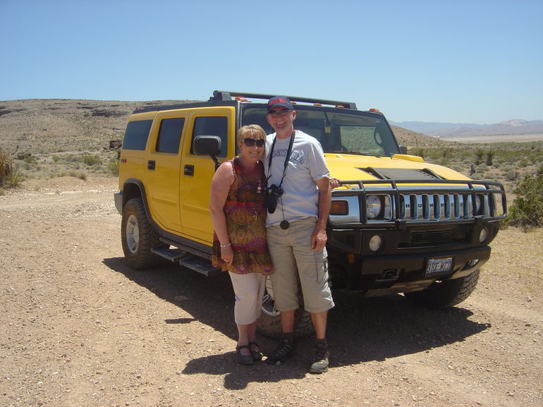 With the Hummer - Las Vegas