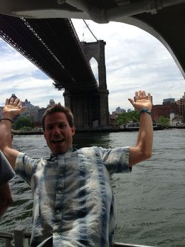 Ryan at the Brooklyn bridge - June 2013