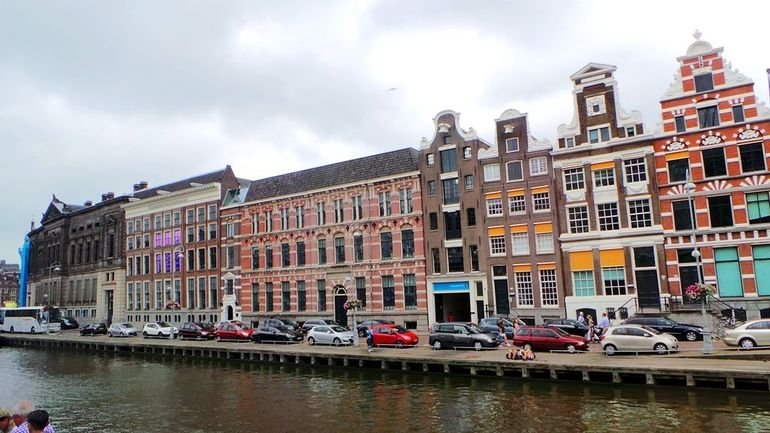 Amsterdam canals and buildings - Brussels