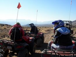 Photo of Las Vegas Grand Canyon North Rim Bar 10 Deluxe Air and Ground Tour ATVs in the Desert