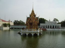 Photo of Bangkok Thailand's Ayutthaya Temples and River Cruise from Bangkok Bang Pa-in Summer Residence