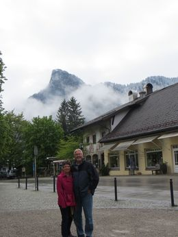 I rained on us a little bit in May but the flowers were still blooming and views at the castles were amazing. Loved our little taste of Bavaria , St add - June 2014