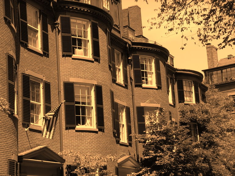 Beacon Hill houses - Boston